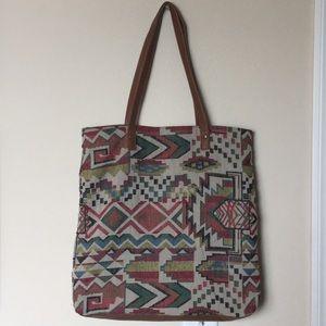 Mossimo Patterned Shoulder Bag